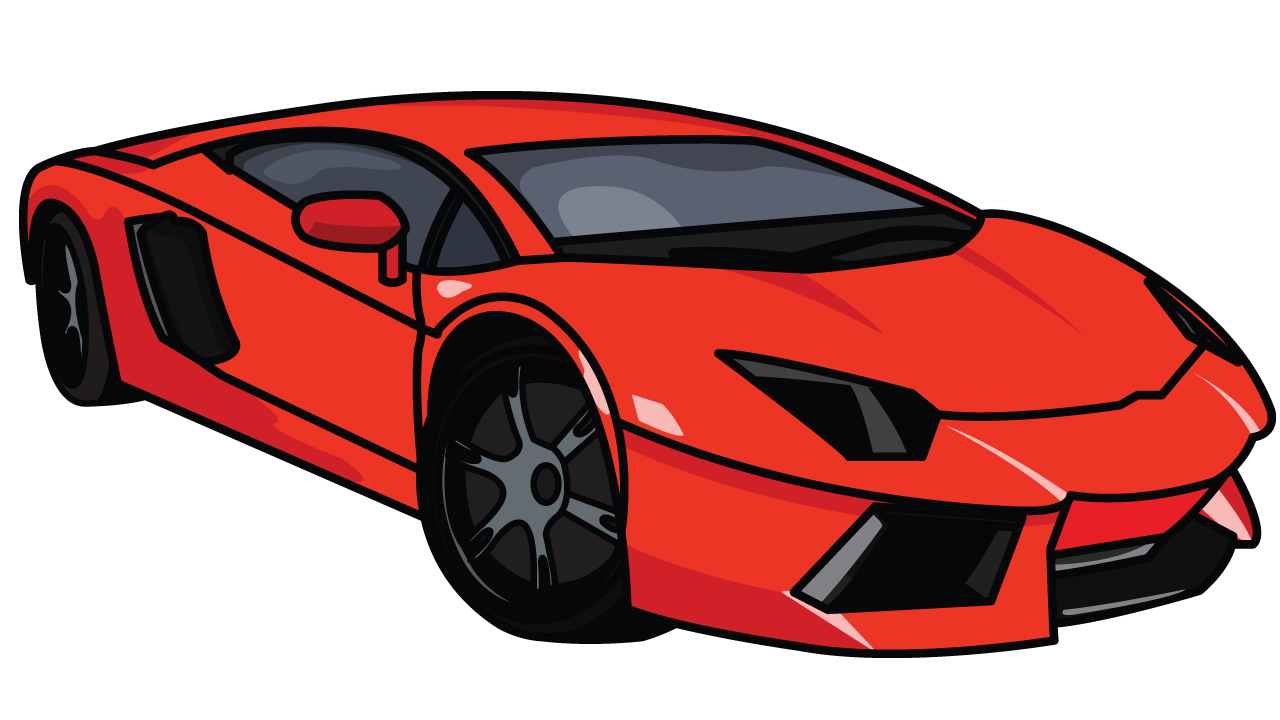 Drawing for kids at. Clipart cars colour
