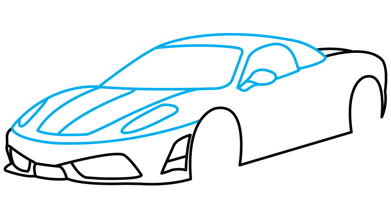 Drawing car at getdrawings. Clipart cars easy