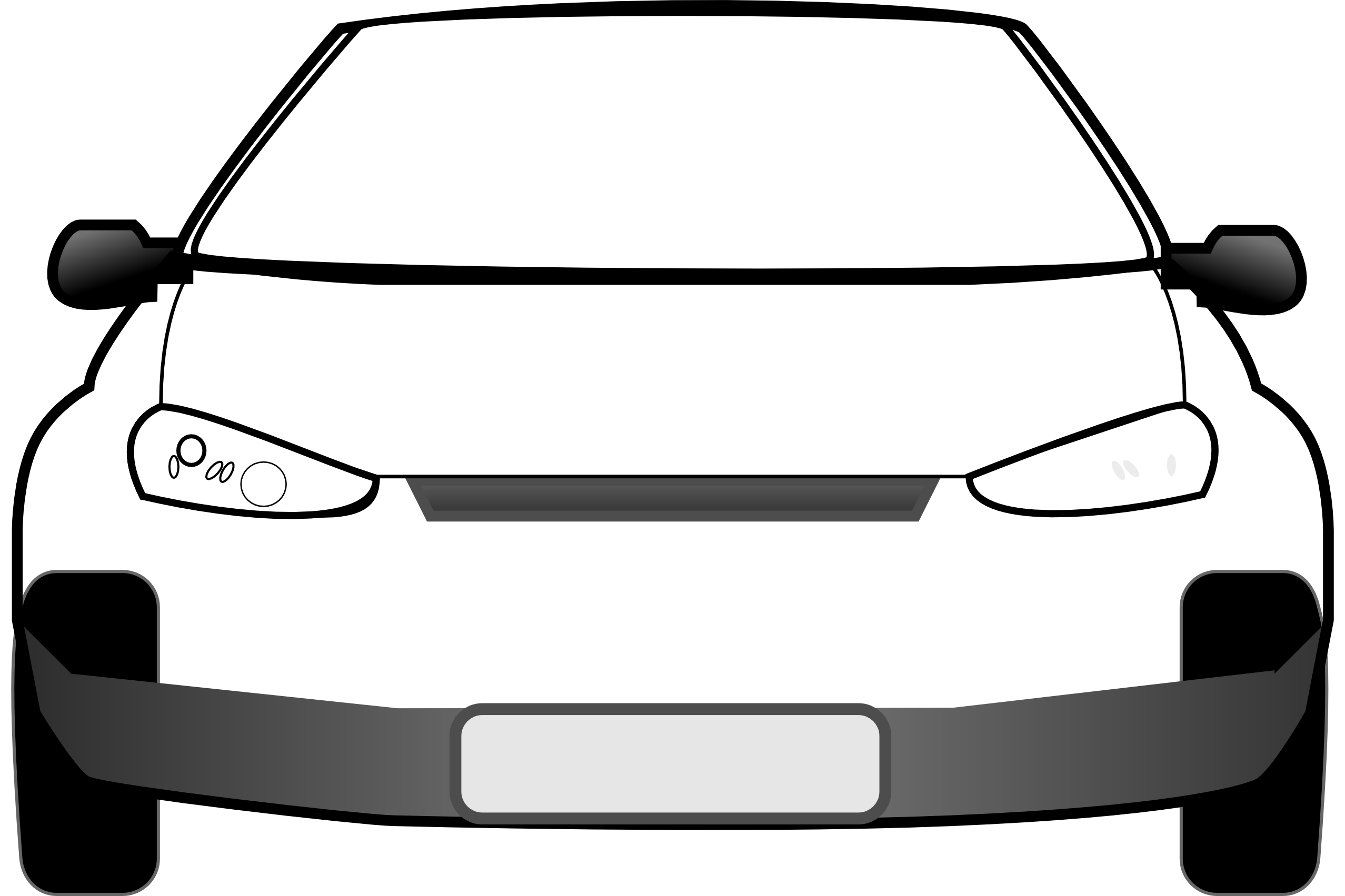 Clipart cars back.  collection of front
