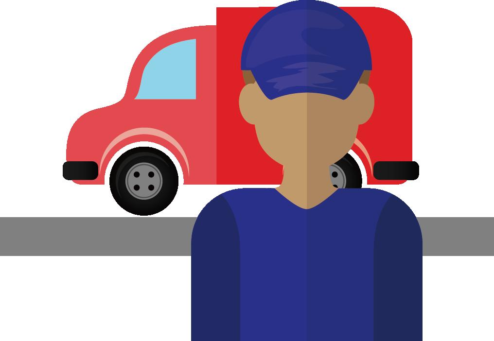 Truck driver clip art. Clipart cars family car