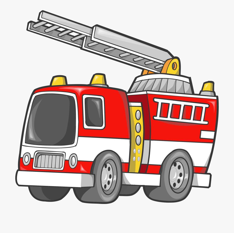 Car fire engine firefighter. Fireman clipart truck
