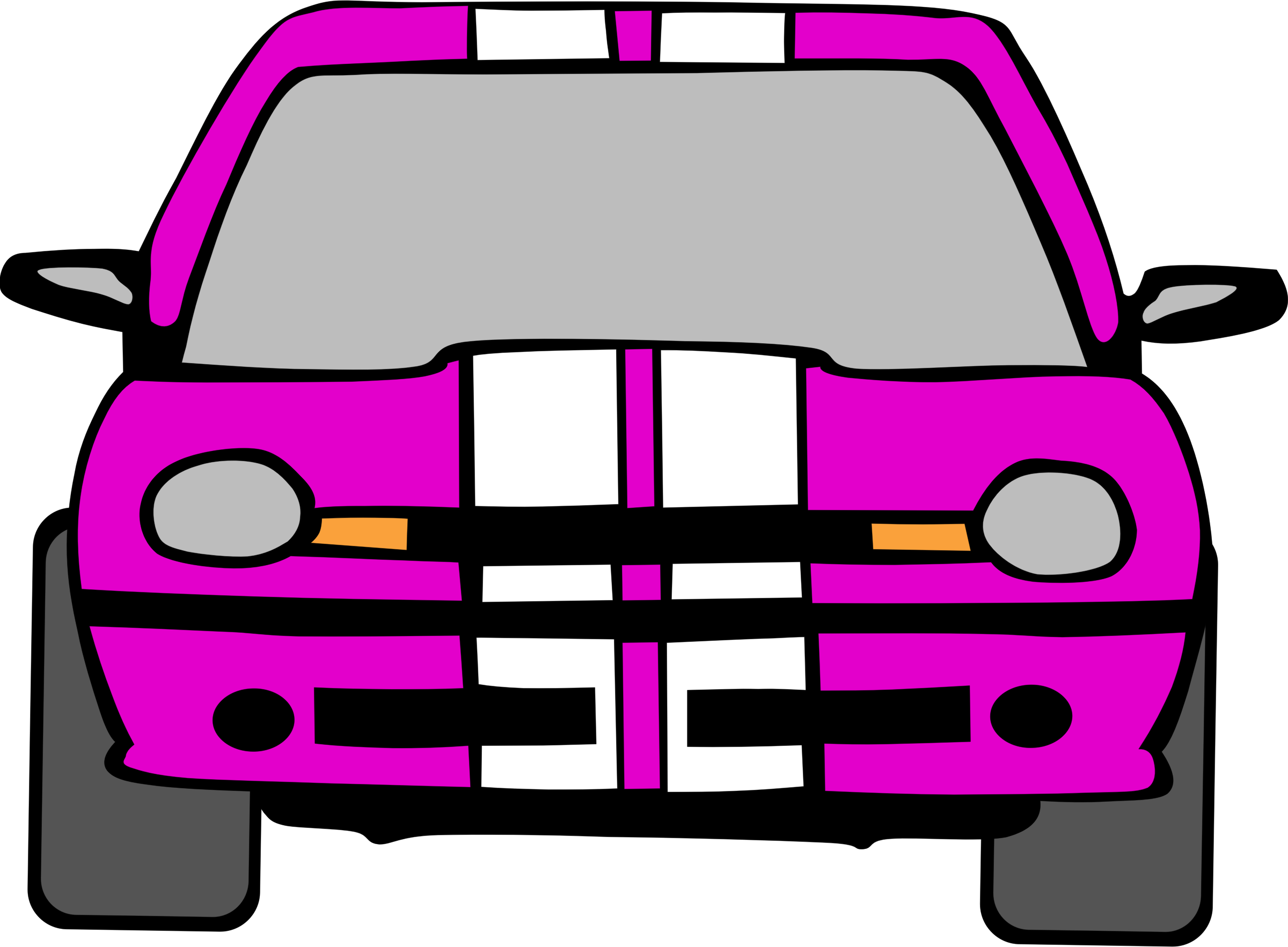 Clipart cars pink. Dodge neon car big