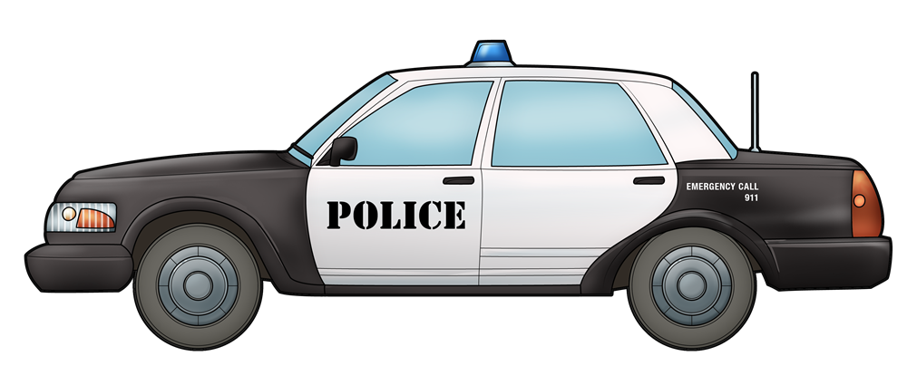 Blue Police Car PNG Transparent Blue Police Car