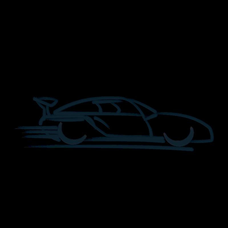 Race car silhouette clip. Clipart flames racing