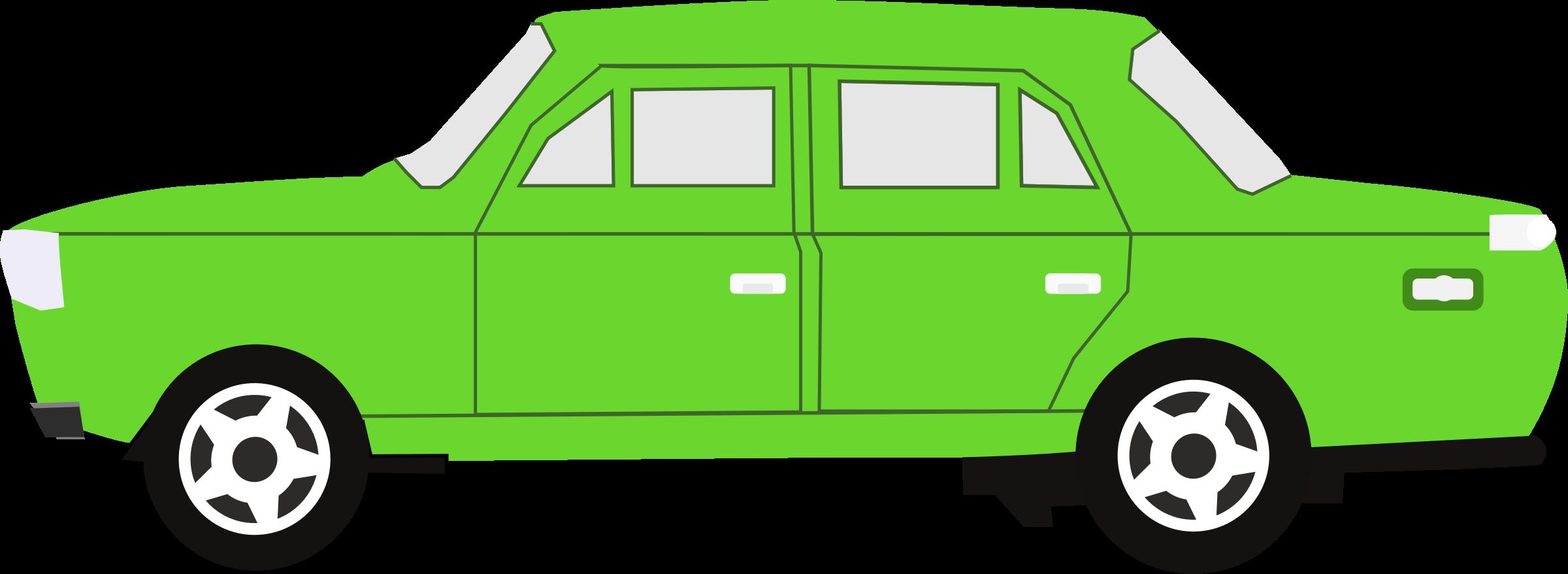 Clipart car green. Big image png