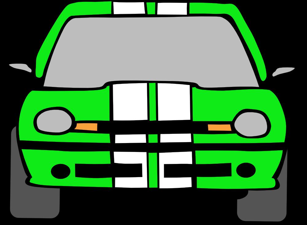 Clipart car green. Viper at getdrawings com