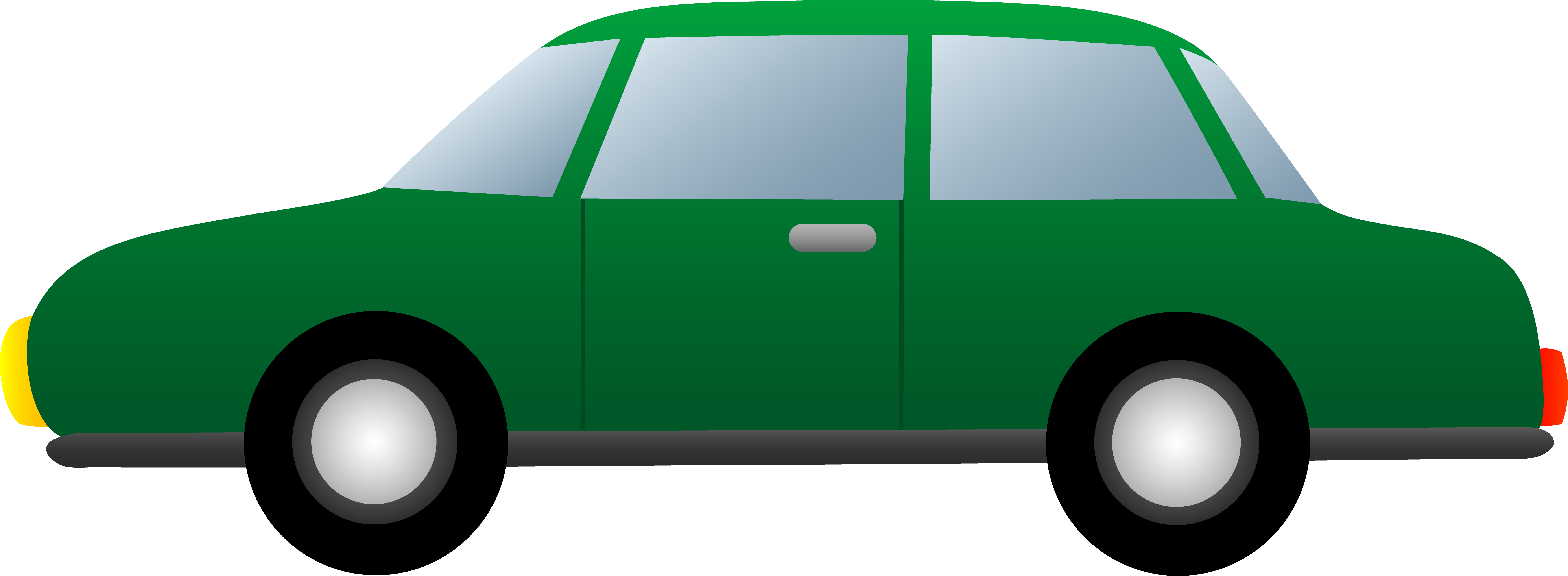 Clipart cars green. Car