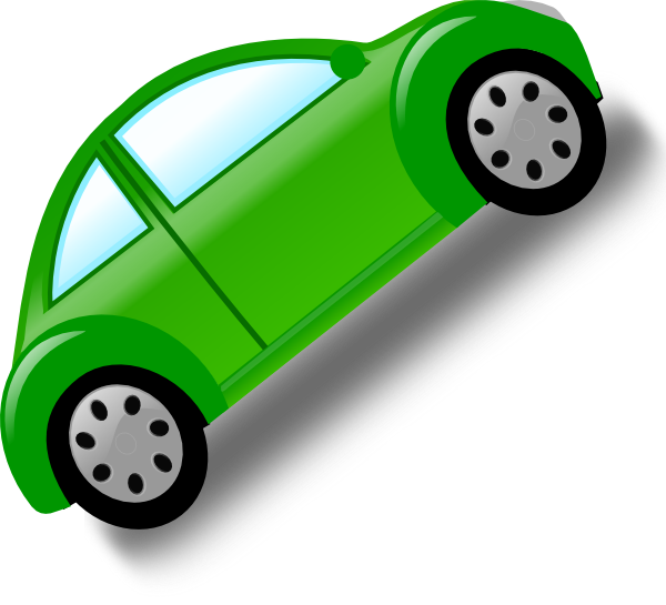 Minivan clipart green car. Clip art at clker