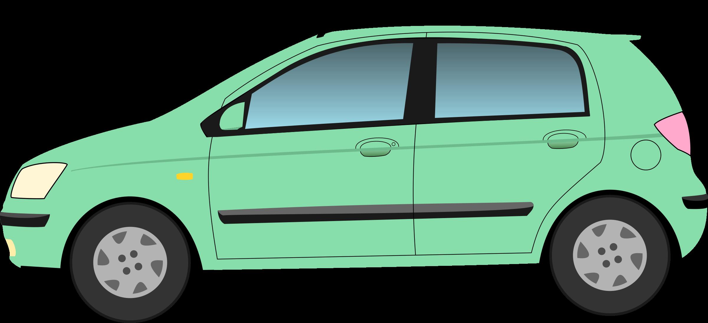 clipart cars green