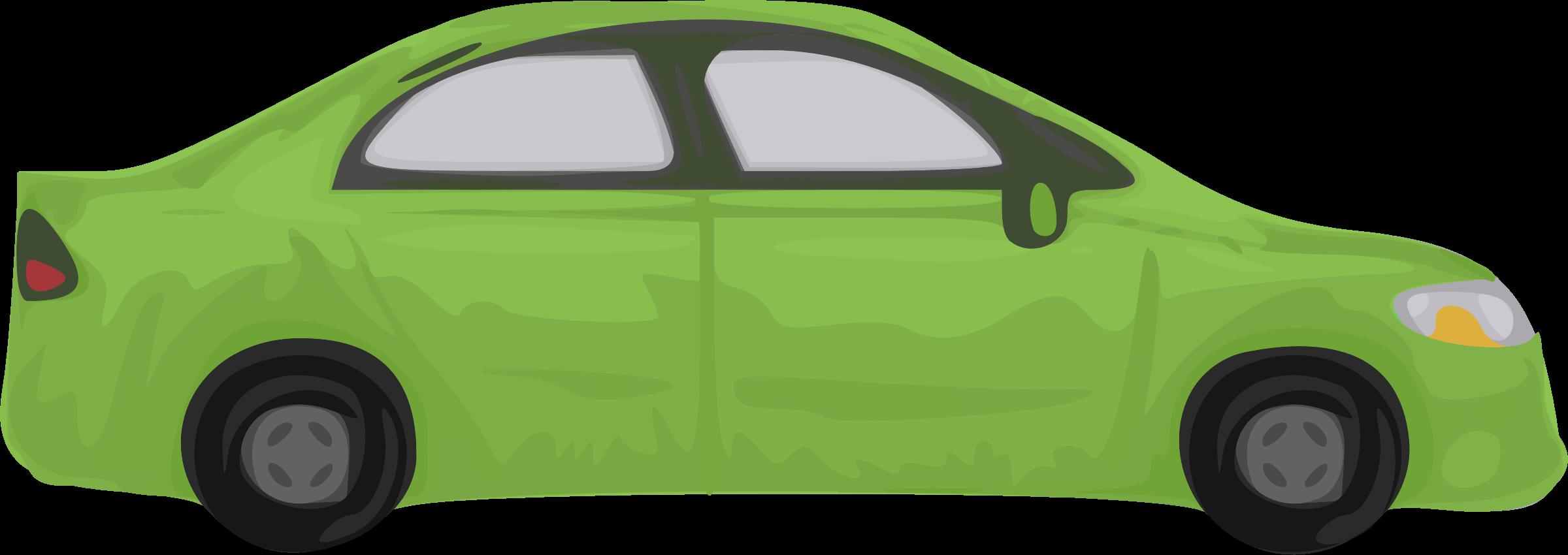Rough big image png. Clipart car green