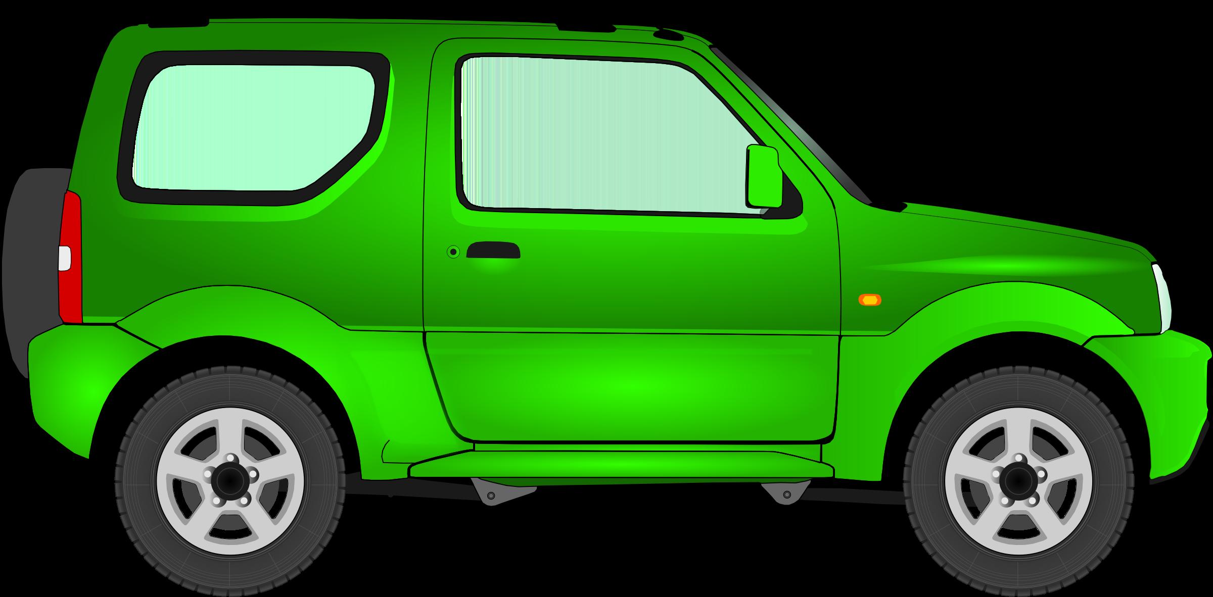 Minivan clipart green car. Big image png