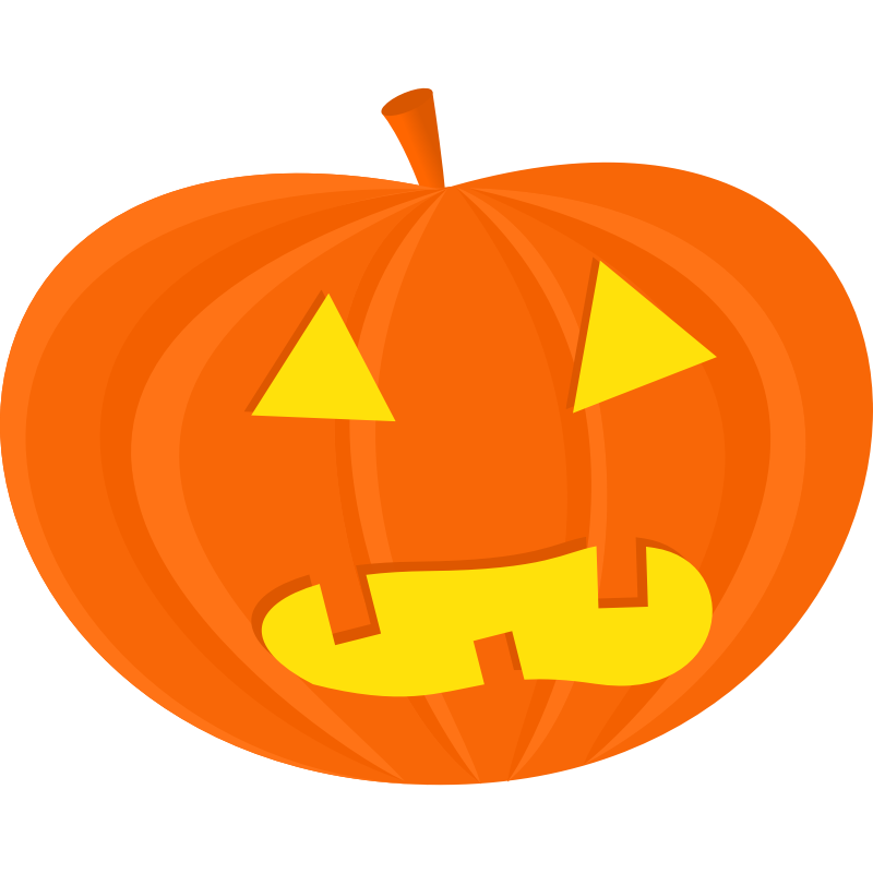 Clipart car halloween. Jack o lantern and