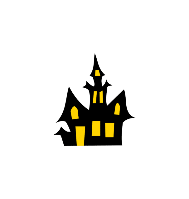 Free clipart at getdrawings. Haunted house silhouette png