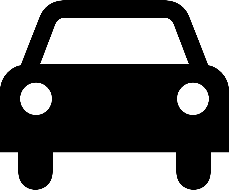 Clipart cars front. Car silhouette at getdrawings