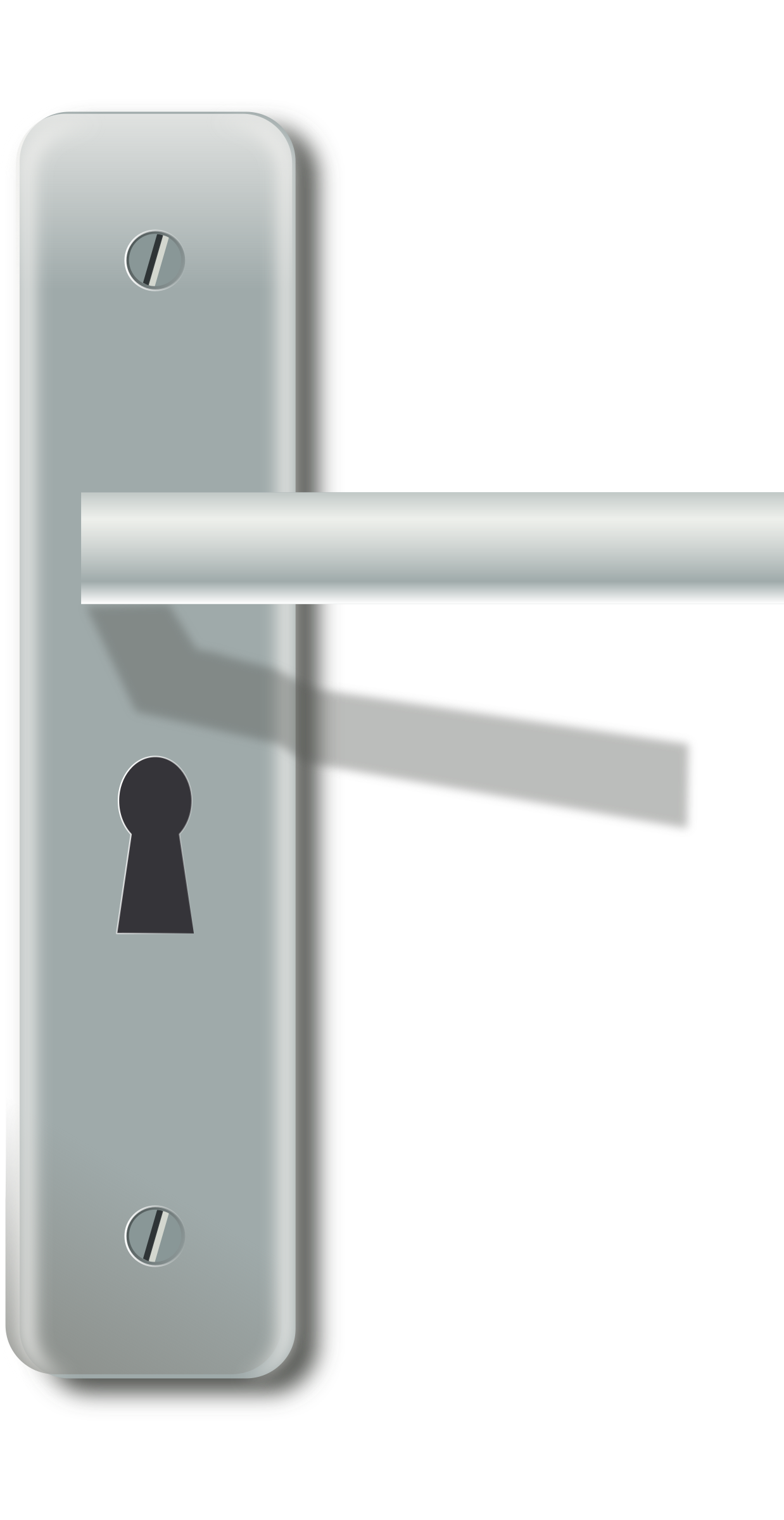 Door home furniture design. Clipart car handle