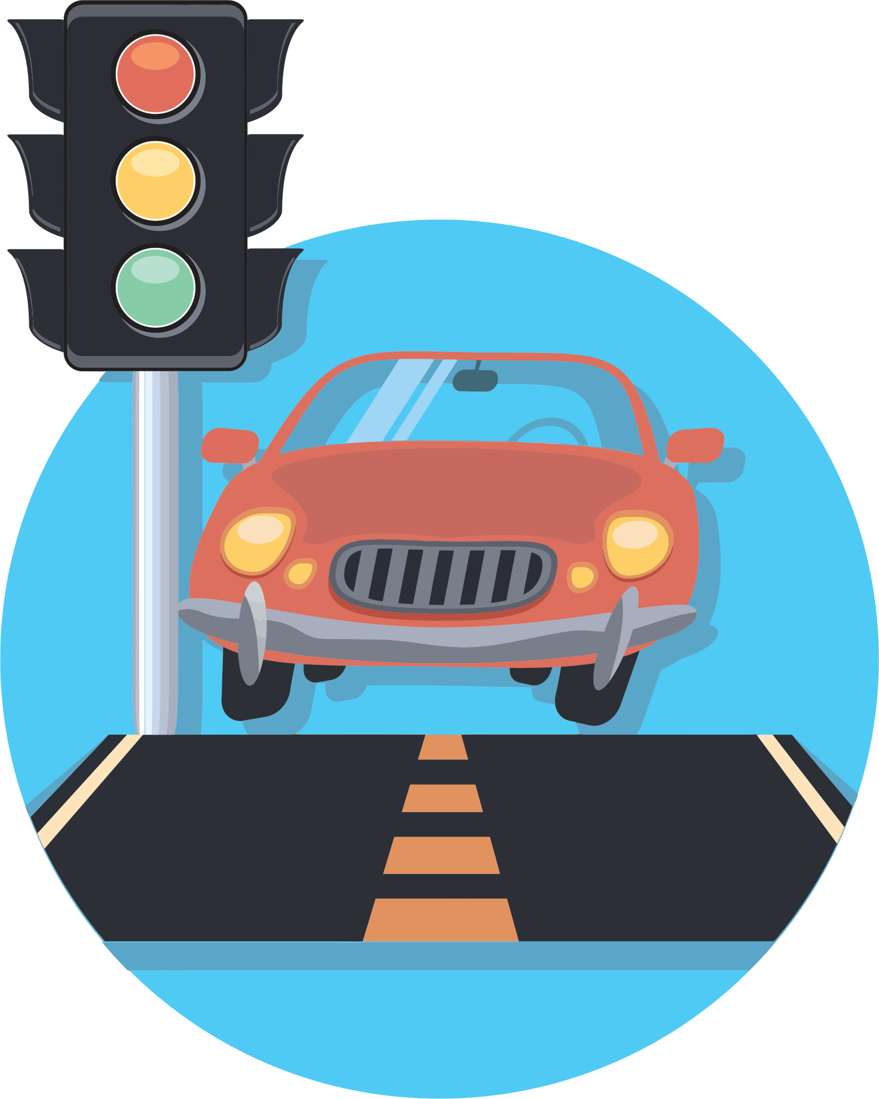 Car lamp icon simple. Clipart cars fume