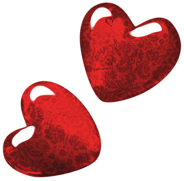 Hanging hearts png clip. Footsteps clipart red