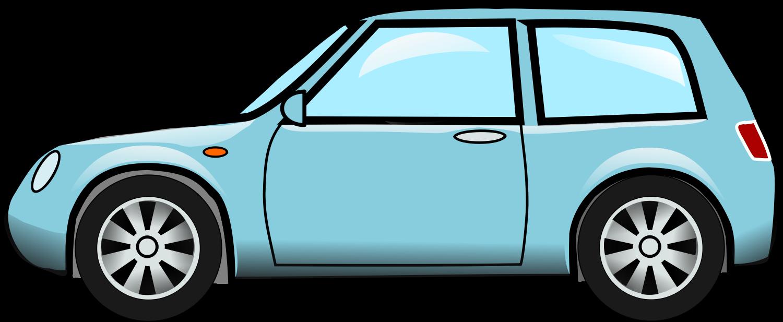 Blue Car clipart transparent car