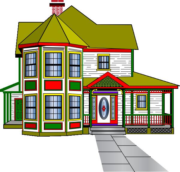 clipart house car