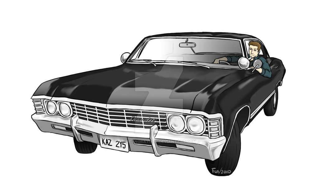 Clipart car impala. Dean commission by deangrayson