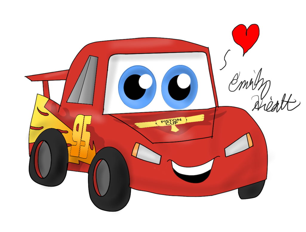 Kawaii by jewuo on. Clipart cars lightning mcqueen