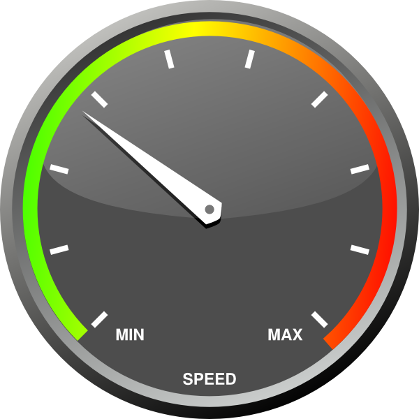 Speedometer clip art at. Fast clipart speed