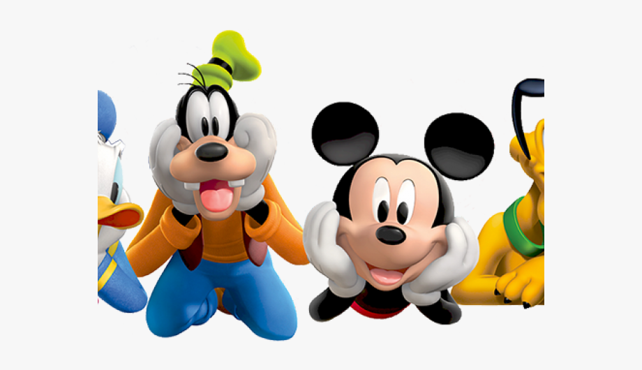 Disneyland clipart cartoon disney. Group mouse clubhouse mickey