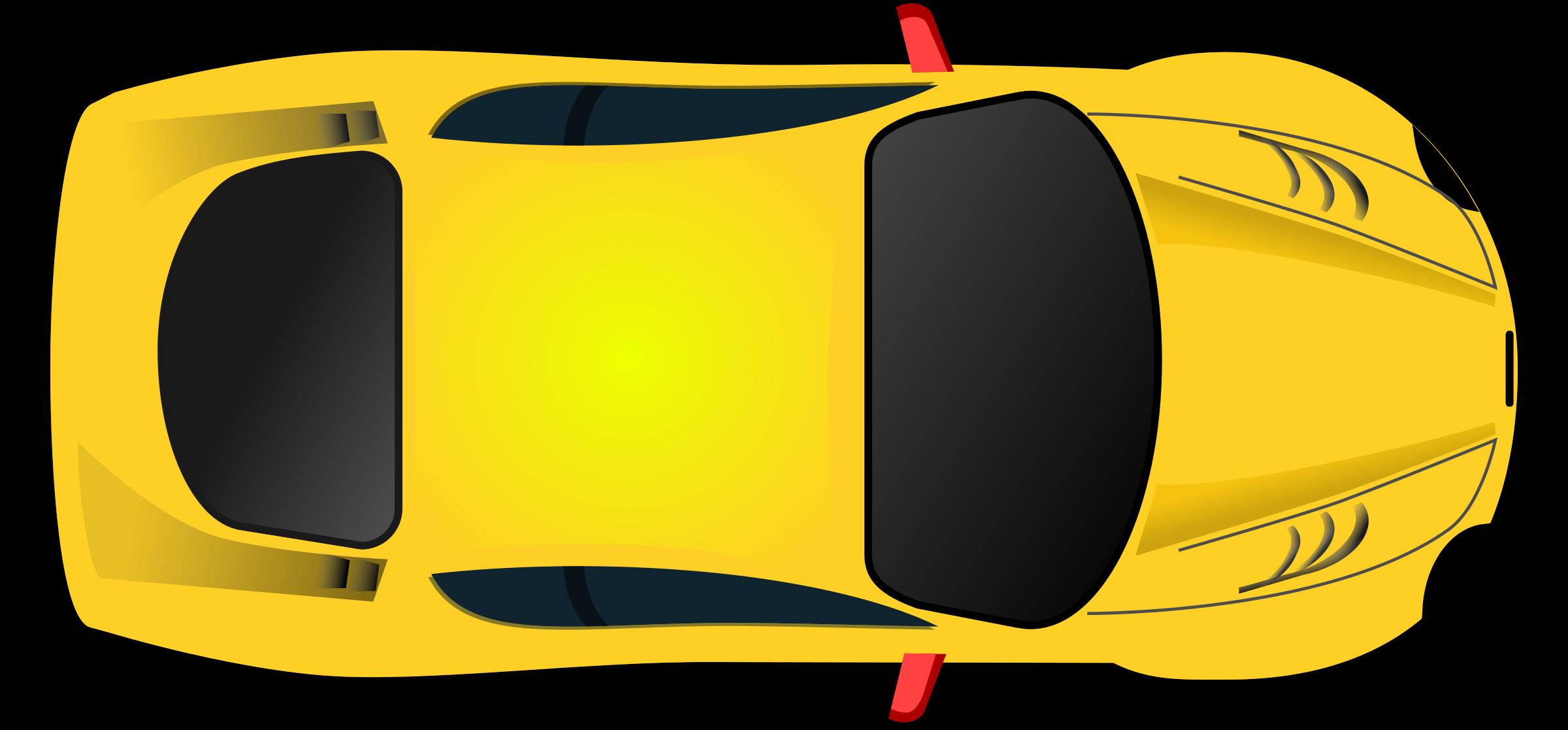 Race clipart racing stripes. Car top view remix