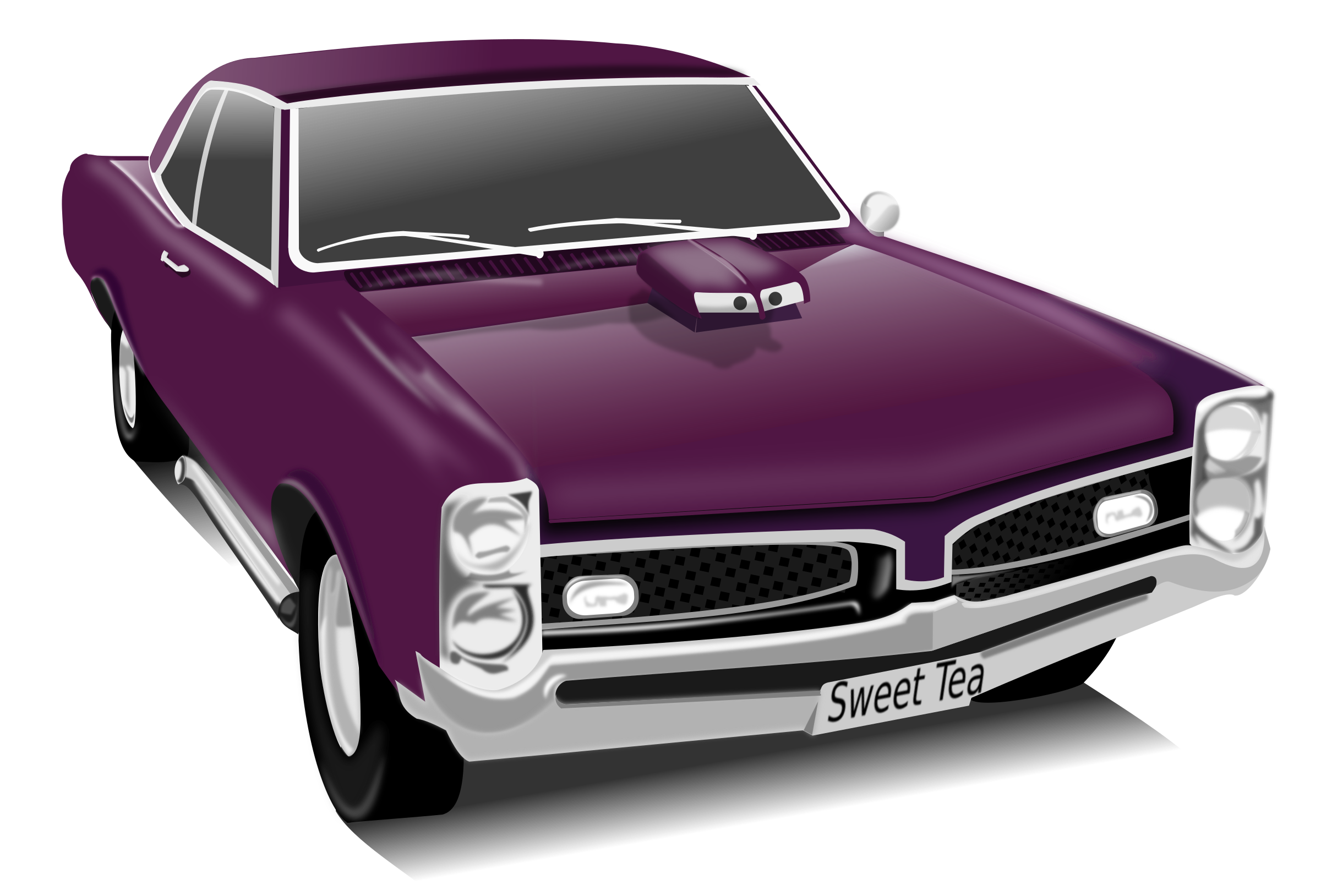My gto big image. Clipart cars muscle