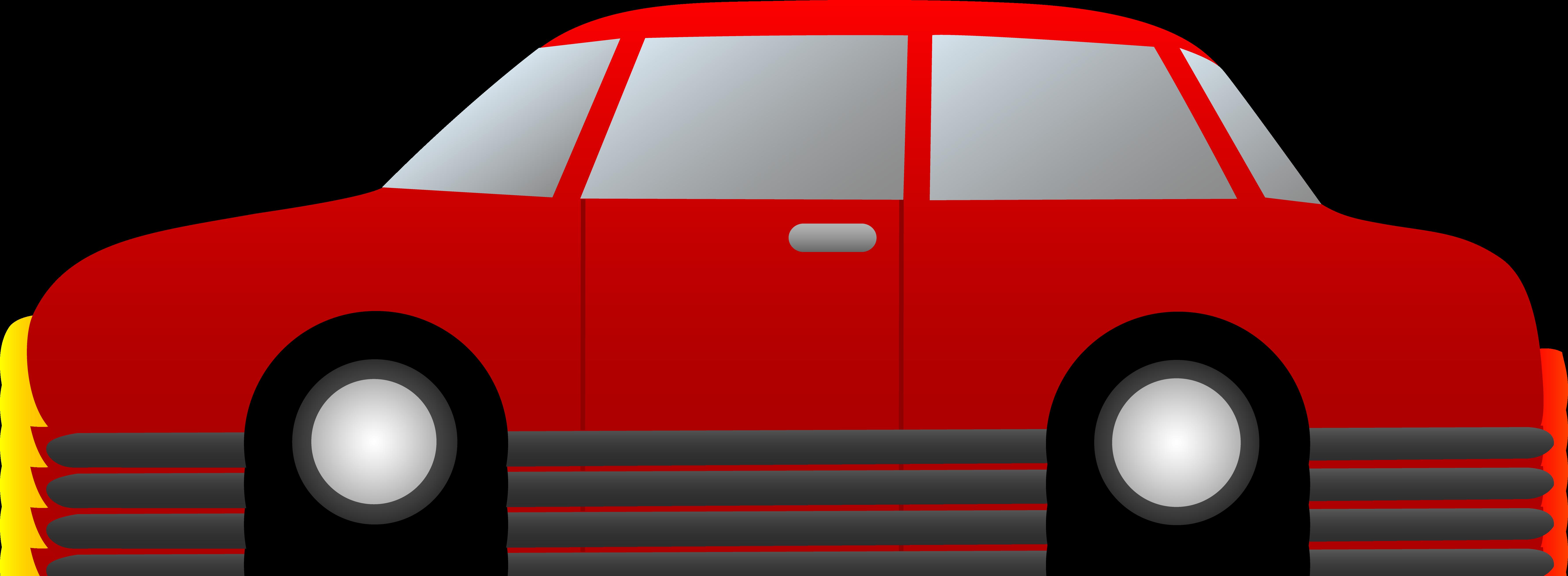 Sports car panda free. Minivan clipart red suv