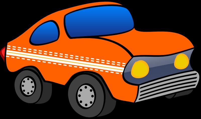 Funny medium image png. Clipart car orange