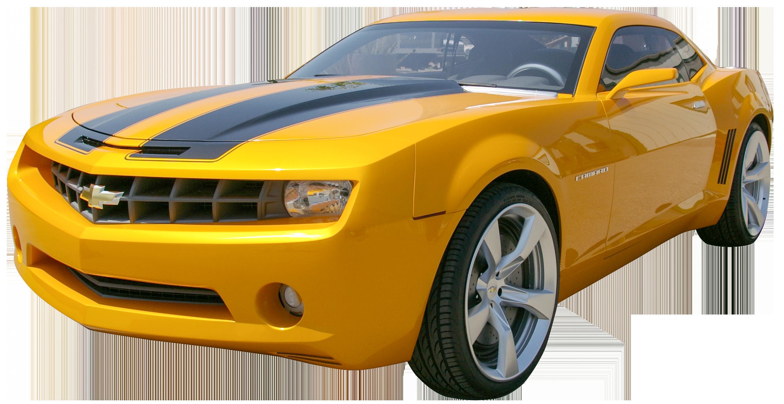 Yellow camaro png clip. Clipart car orange