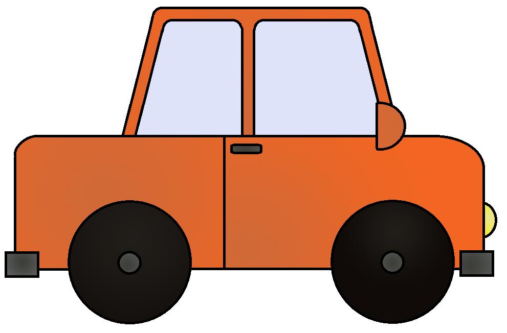 Clipart cars train. Orange clip art images