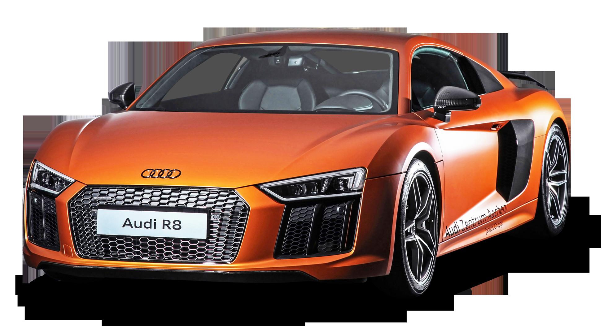 Clipart car orange. Audi r png image
