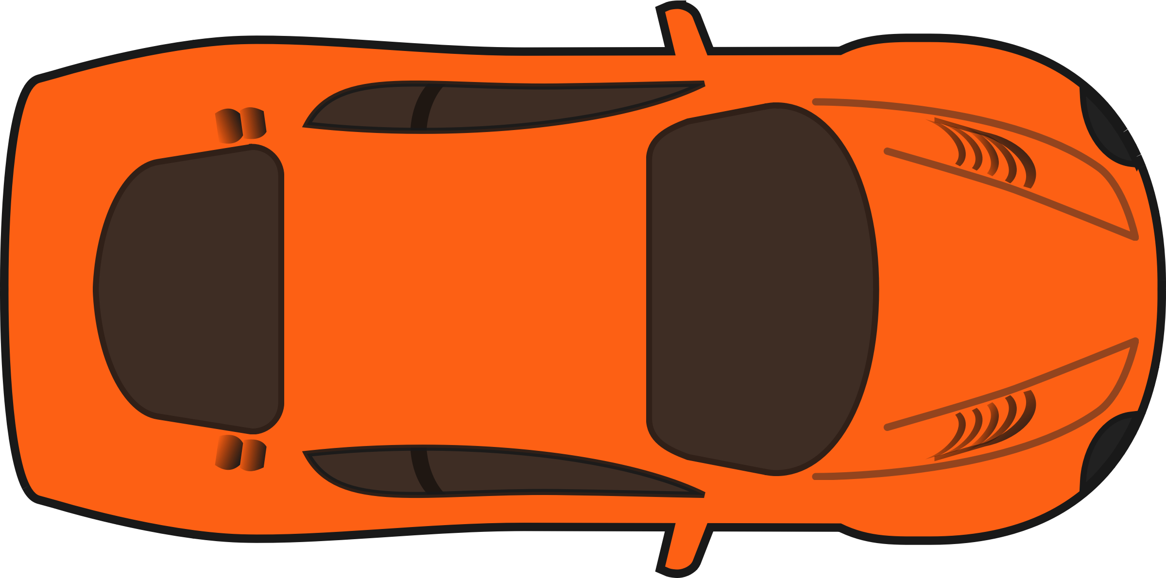 See clipart nice. Sports car drawing outline