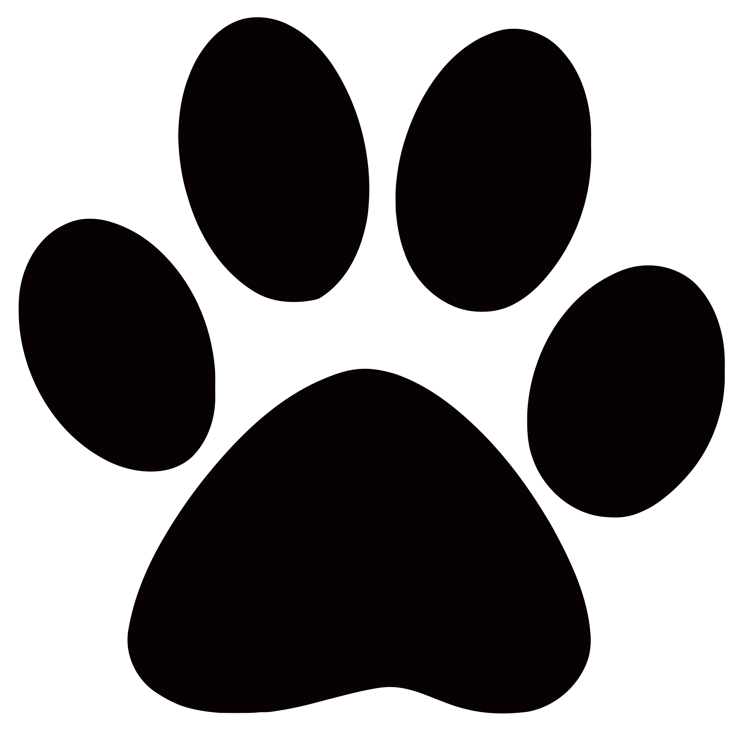 Excited clipart ng tao. Panther paw print clip