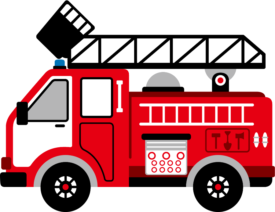 Emergency transportation pencil and. Fireman clipart figther