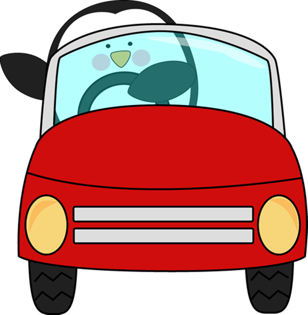 Car funny and in. Clipart cars pencil