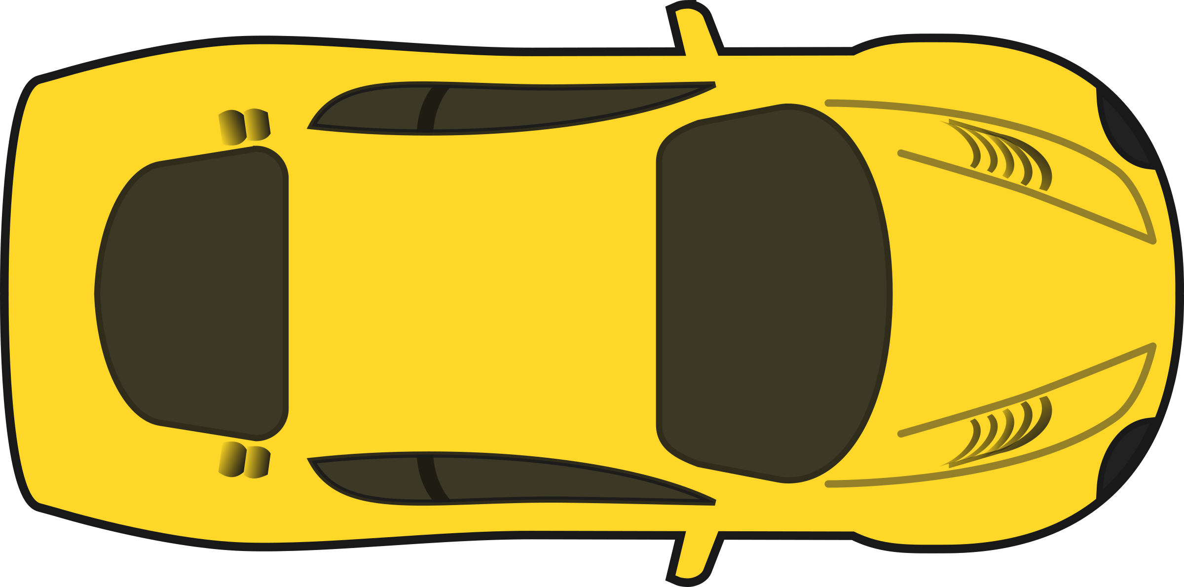 collection of car. Kind clipart top view