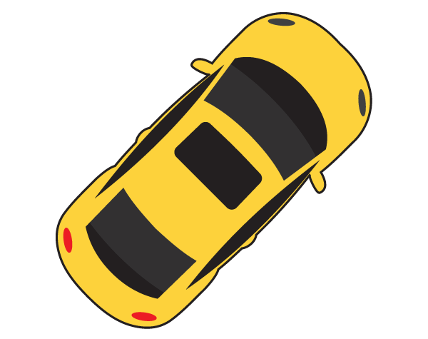 Free car view png. Clipart cars plan