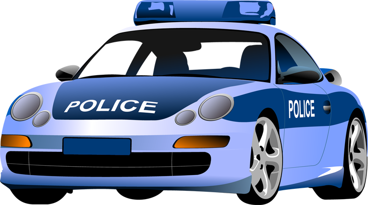 Car clip art pictures. Kid clipart police