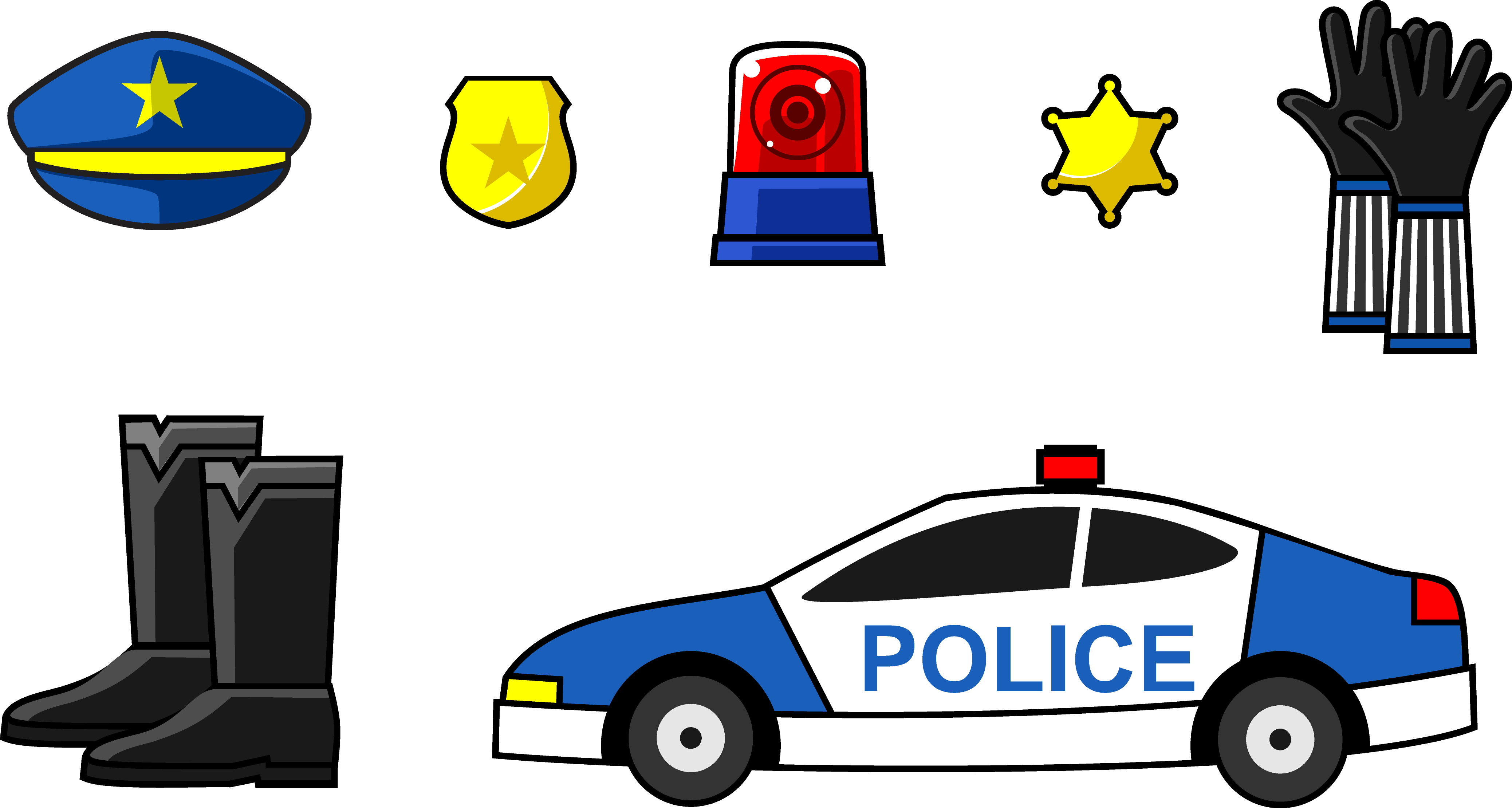 Car badge supplies transprent. Clipart cars police officer