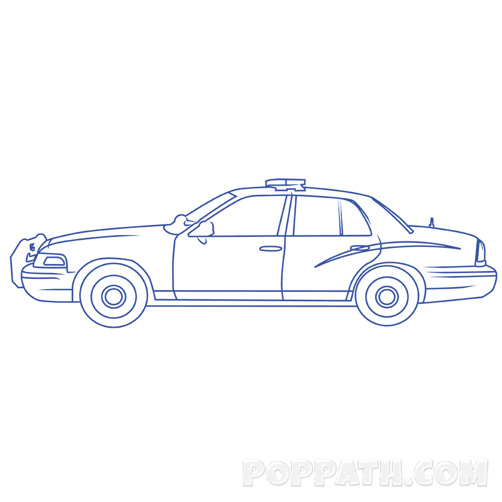 Clipart cars police officer. Car drawing at getdrawings