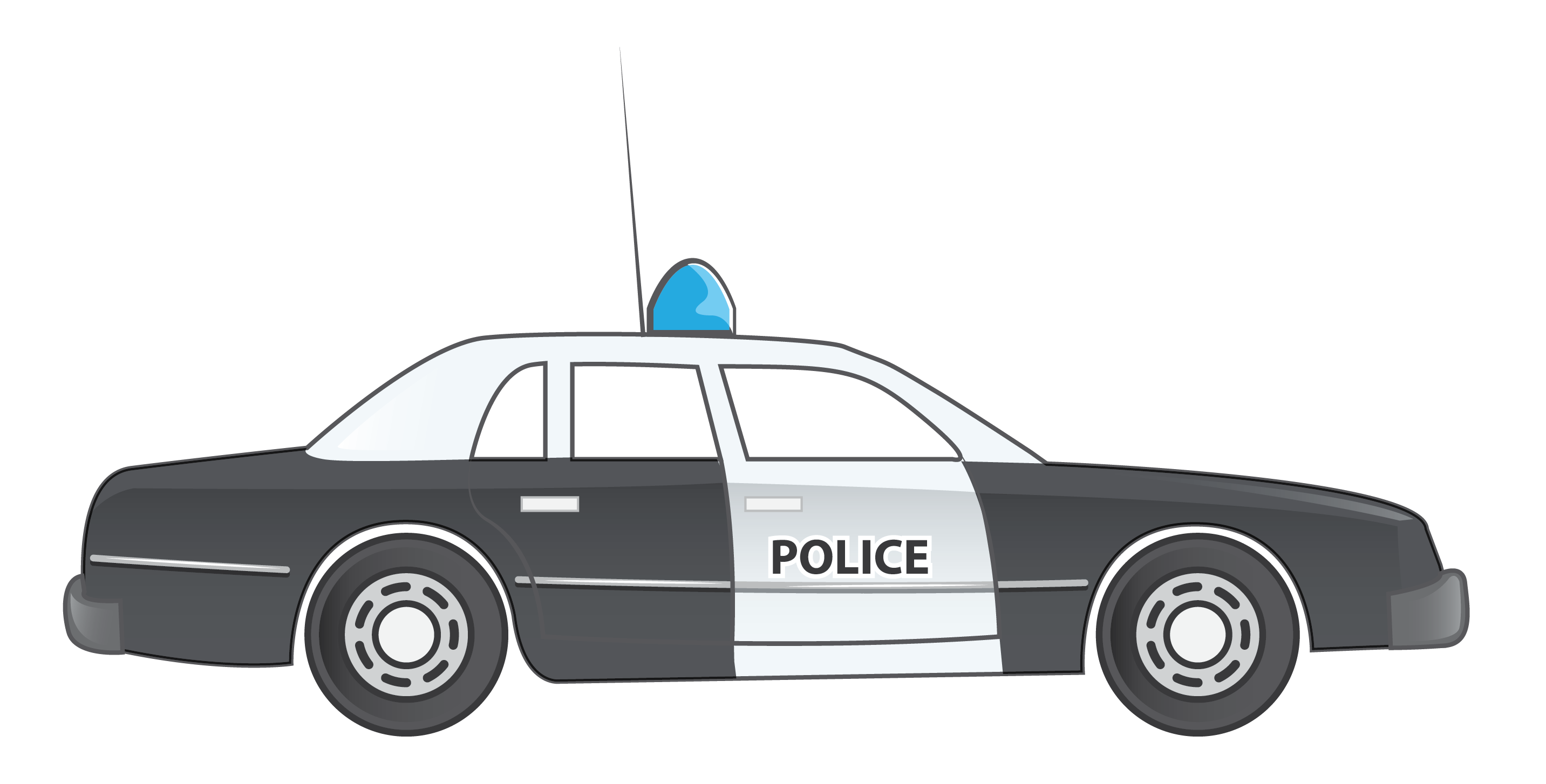 collection of car. Clipart cars police officer