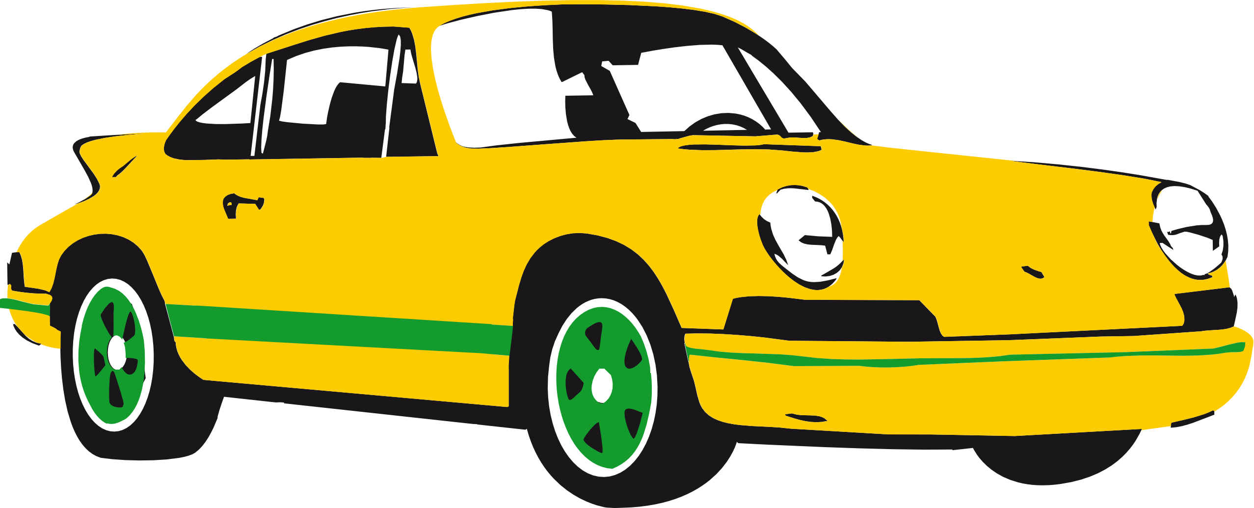 collection of yellow. Clipart png car