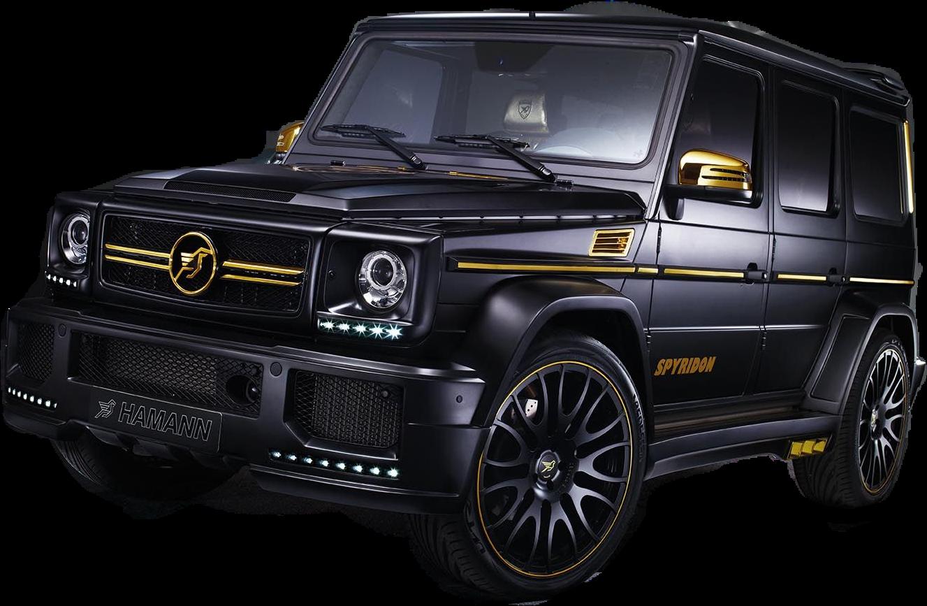Clipart cars psd. Truck car black gold