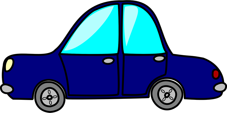 Blue toy car png. Clipart cars psd