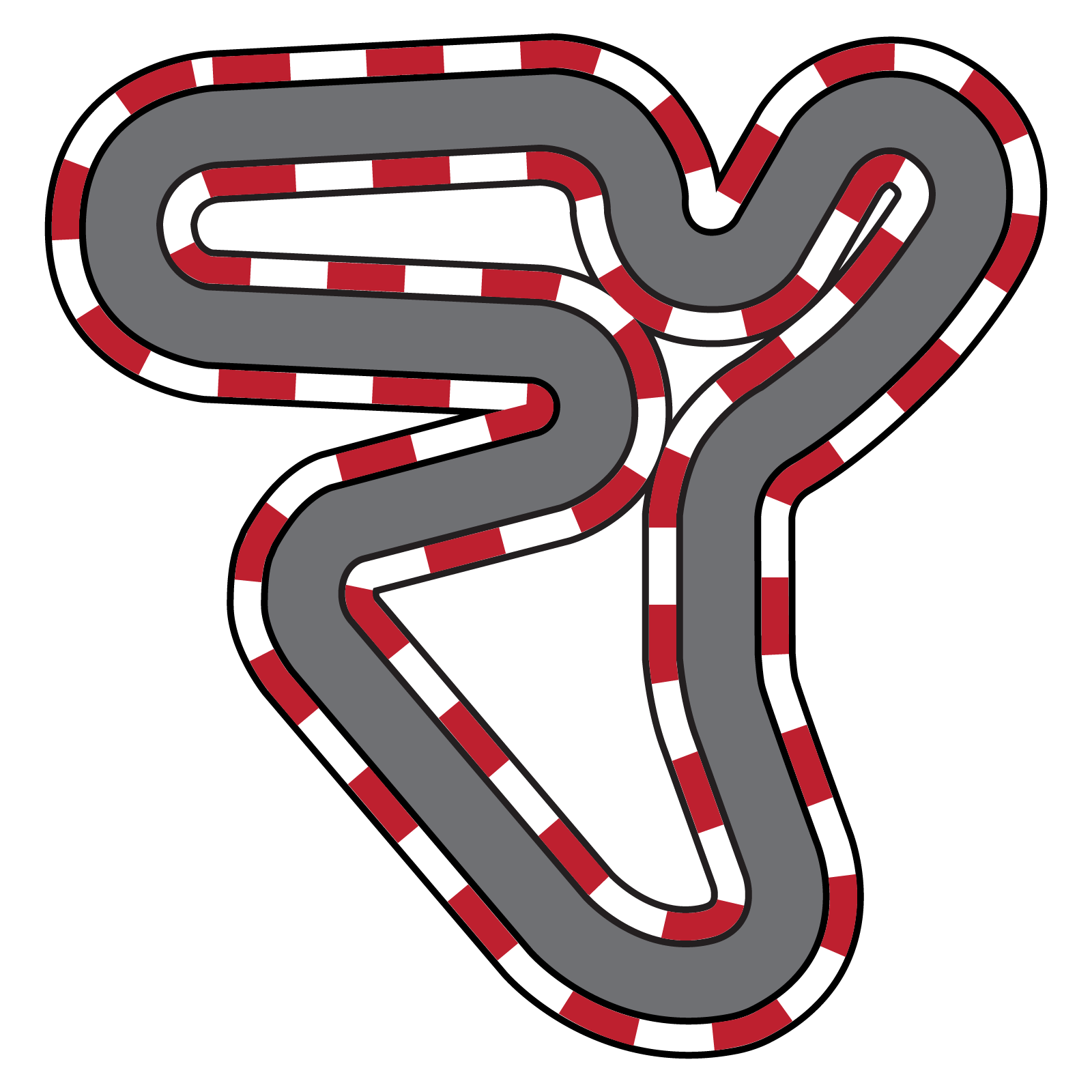 Clipart car racetrack.  collection of racing