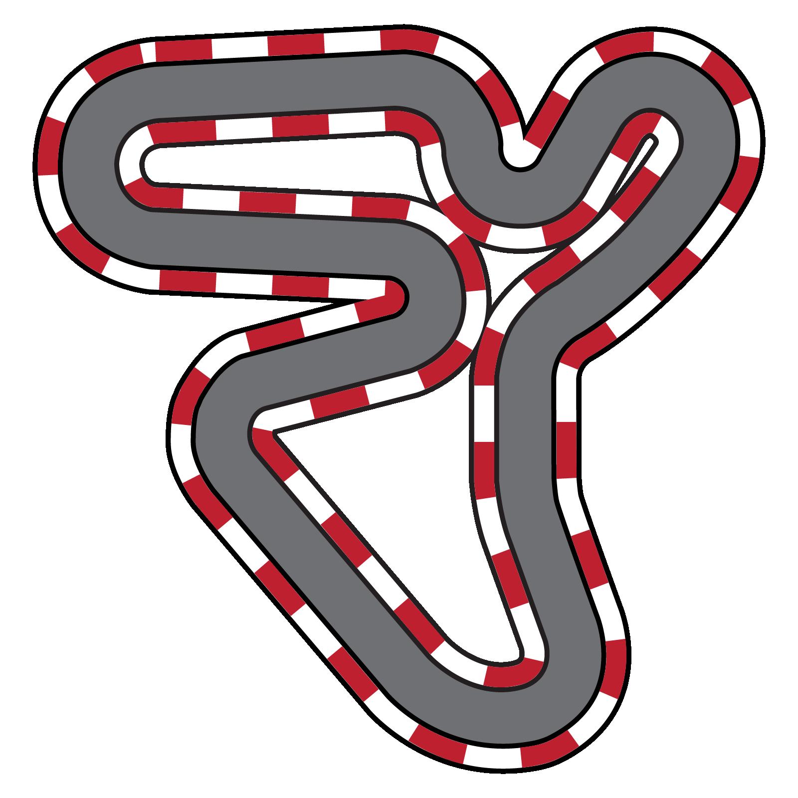 collection of car. Race clipart racecourse