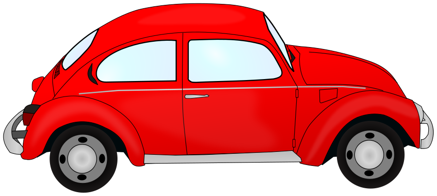 Red Car Free Clipart